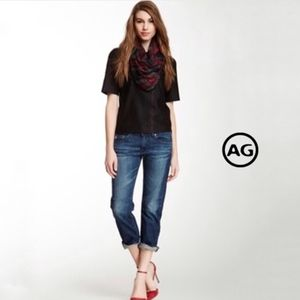 AG Tomboy Crop - Relaxed Straight Crop